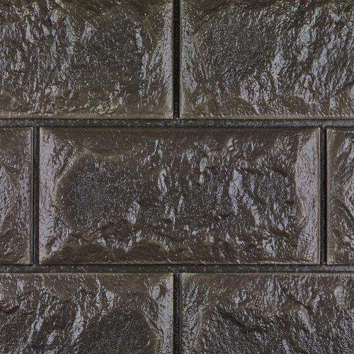 دیوارپوش فومی طرح آجر  کد FB  اندازه 71x 77