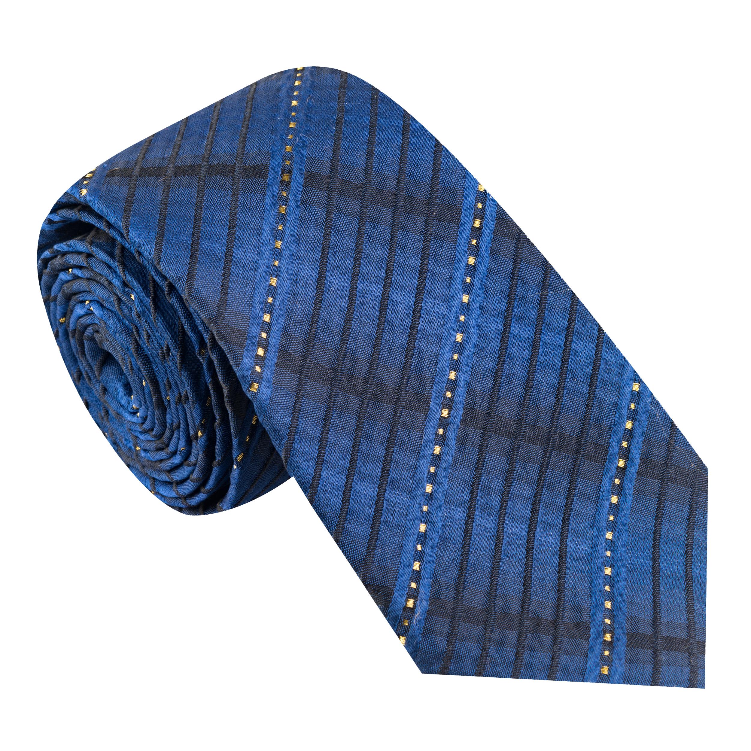 کراوات مردانه جیان فرانکو روسی مدل GF-ST496-BL