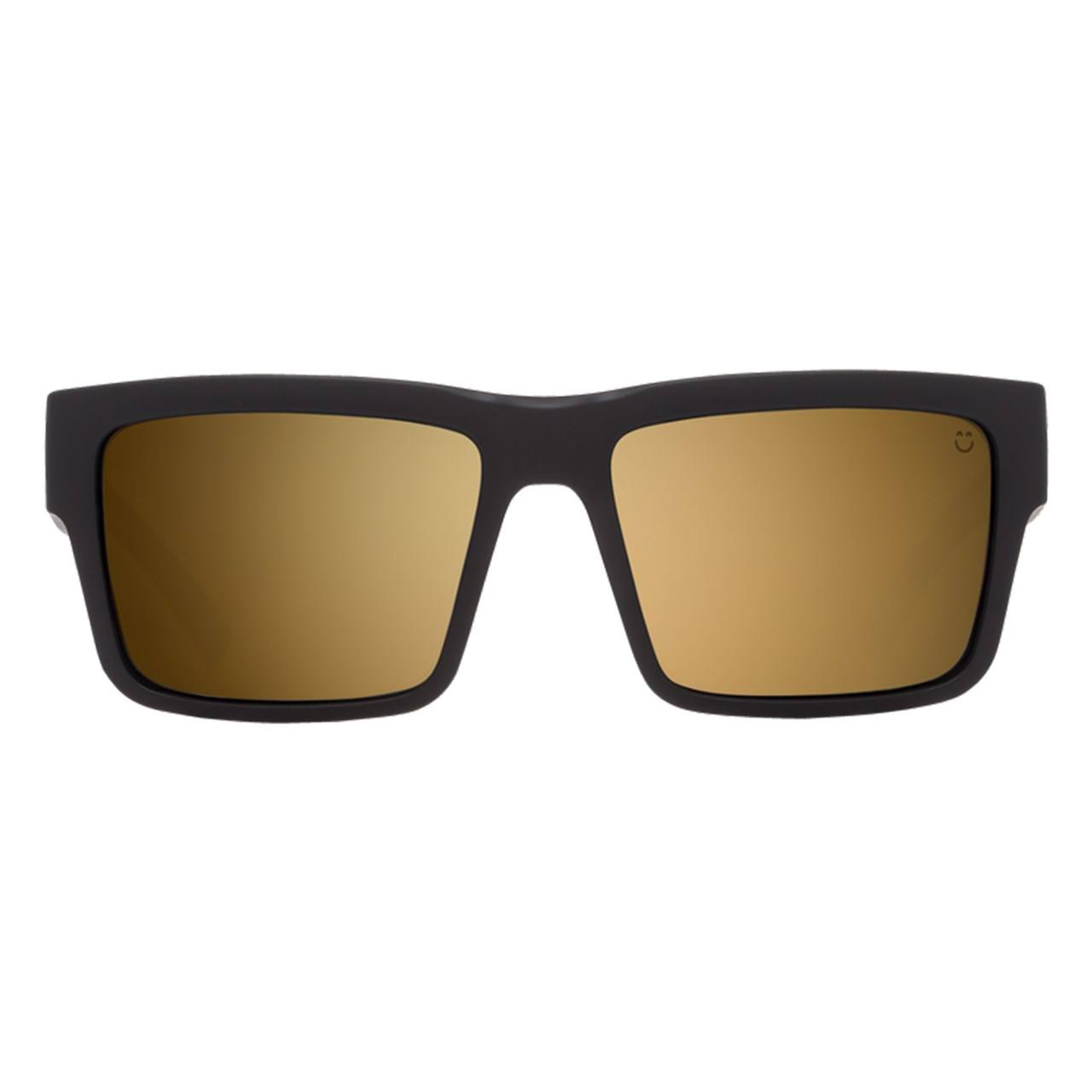عینک آفتابی اسپای سری  Montana مدل Soft Matte Black Happy Bronze Gold Mirror -  - 1