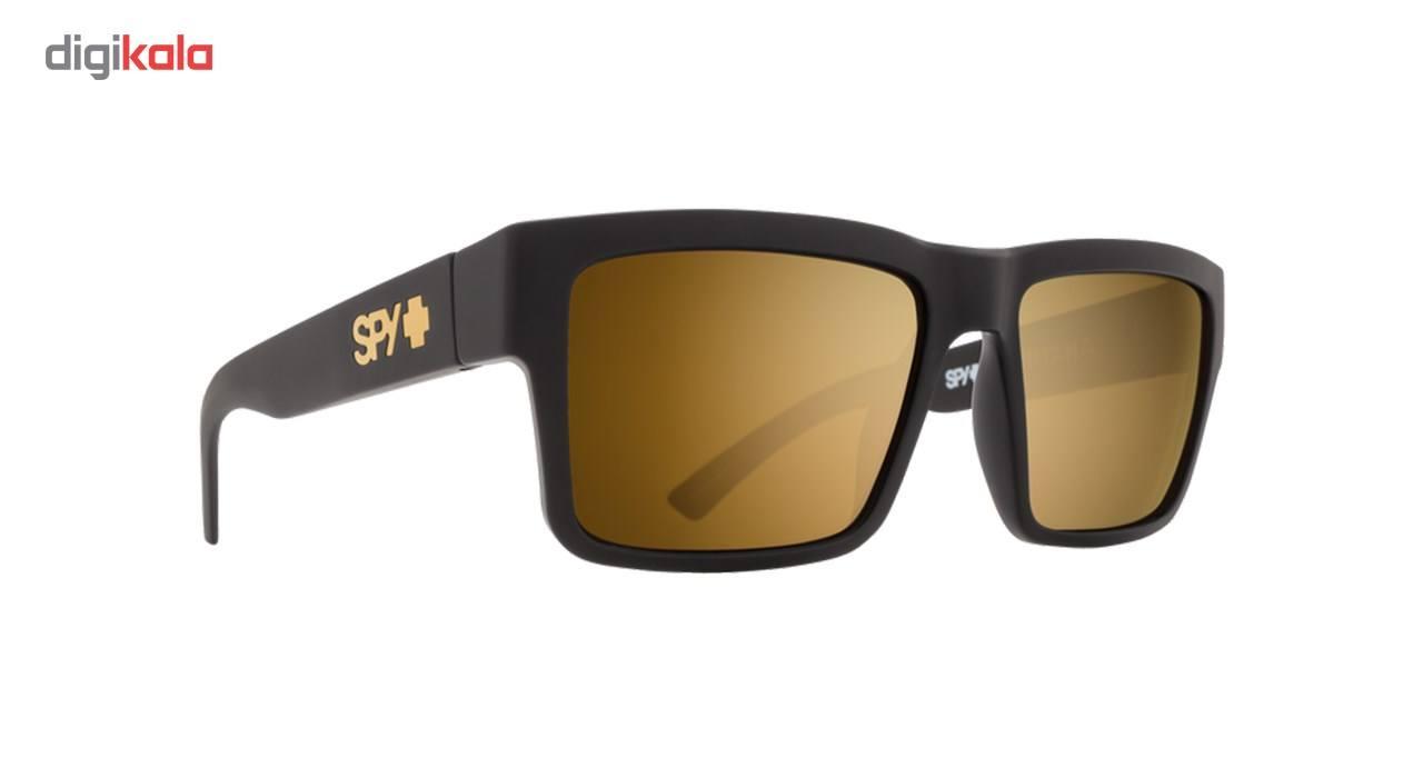 عینک آفتابی اسپای سری  Montana مدل Soft Matte Black Happy Bronze Gold Mirror -  - 2