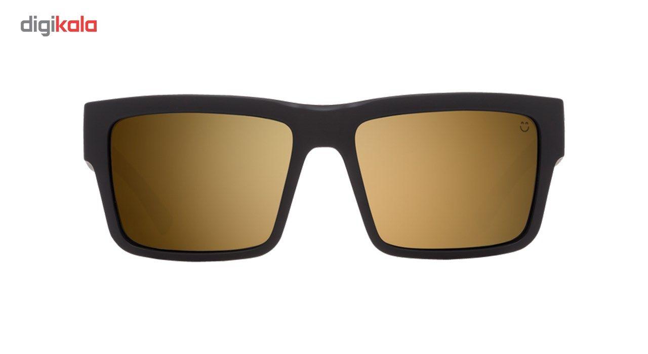 عینک آفتابی اسپای سری  Montana مدل Soft Matte Black Happy Bronze Gold Mirror -  - 4