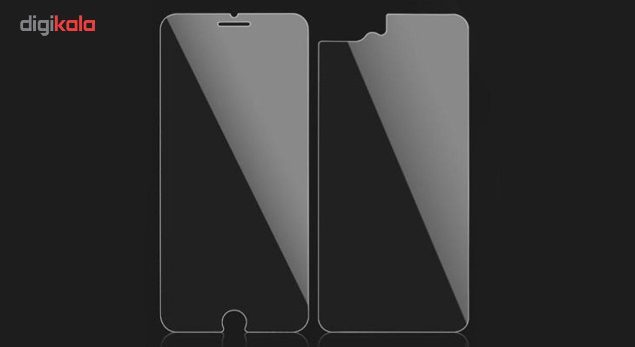 محافظ صفحه نمایش و پشت تمام چسب شیشه ای  پیکسی مدل Top Clear مناسب برای گوشی اپل آیفون 8/7 پلاس main 1 3