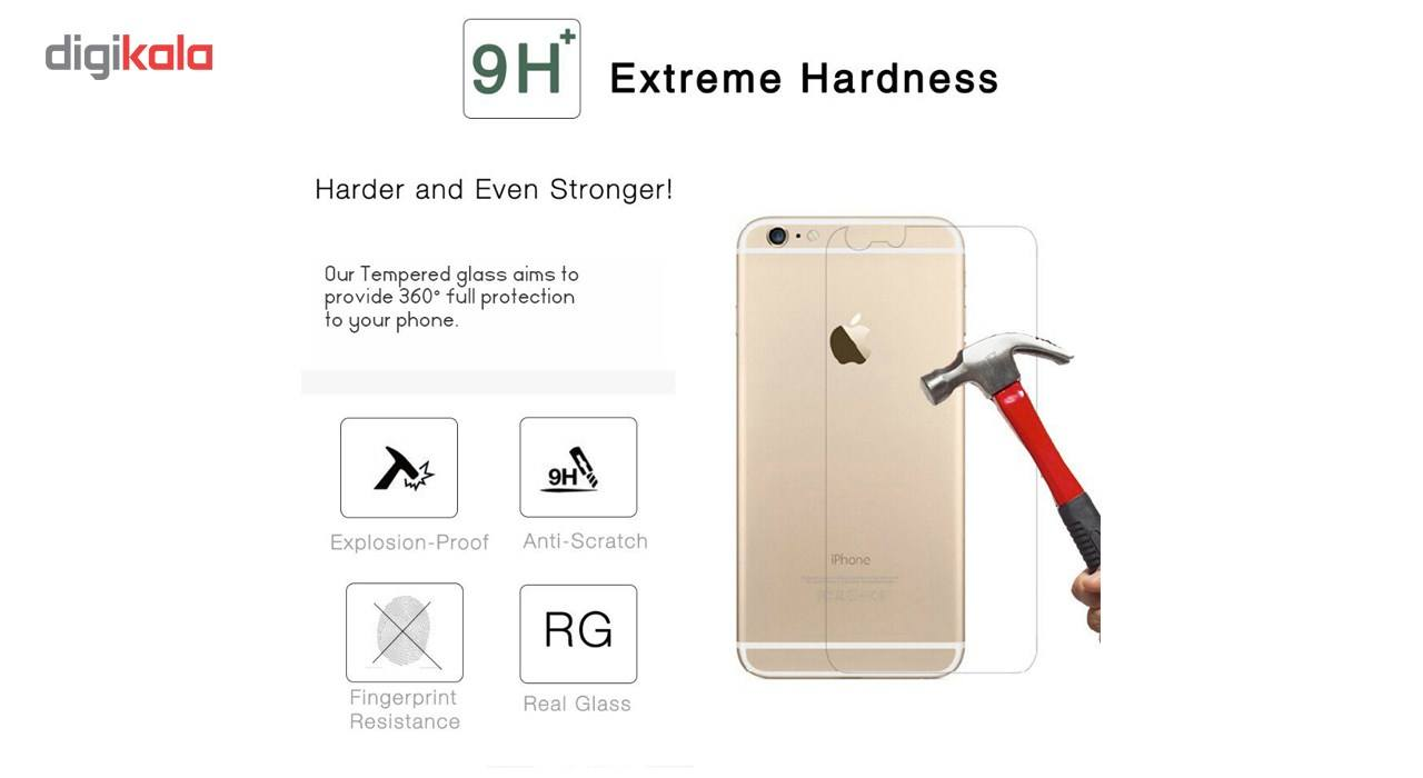 محافظ صفحه نمایش و پشت تمام چسب شیشه ای  پیکسی مدل Top Clear مناسب برای گوشی اپل آیفون 8/7 پلاس main 1 6
