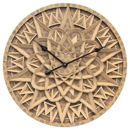 ساعت دیواری طرح هفت هشتی کد 204