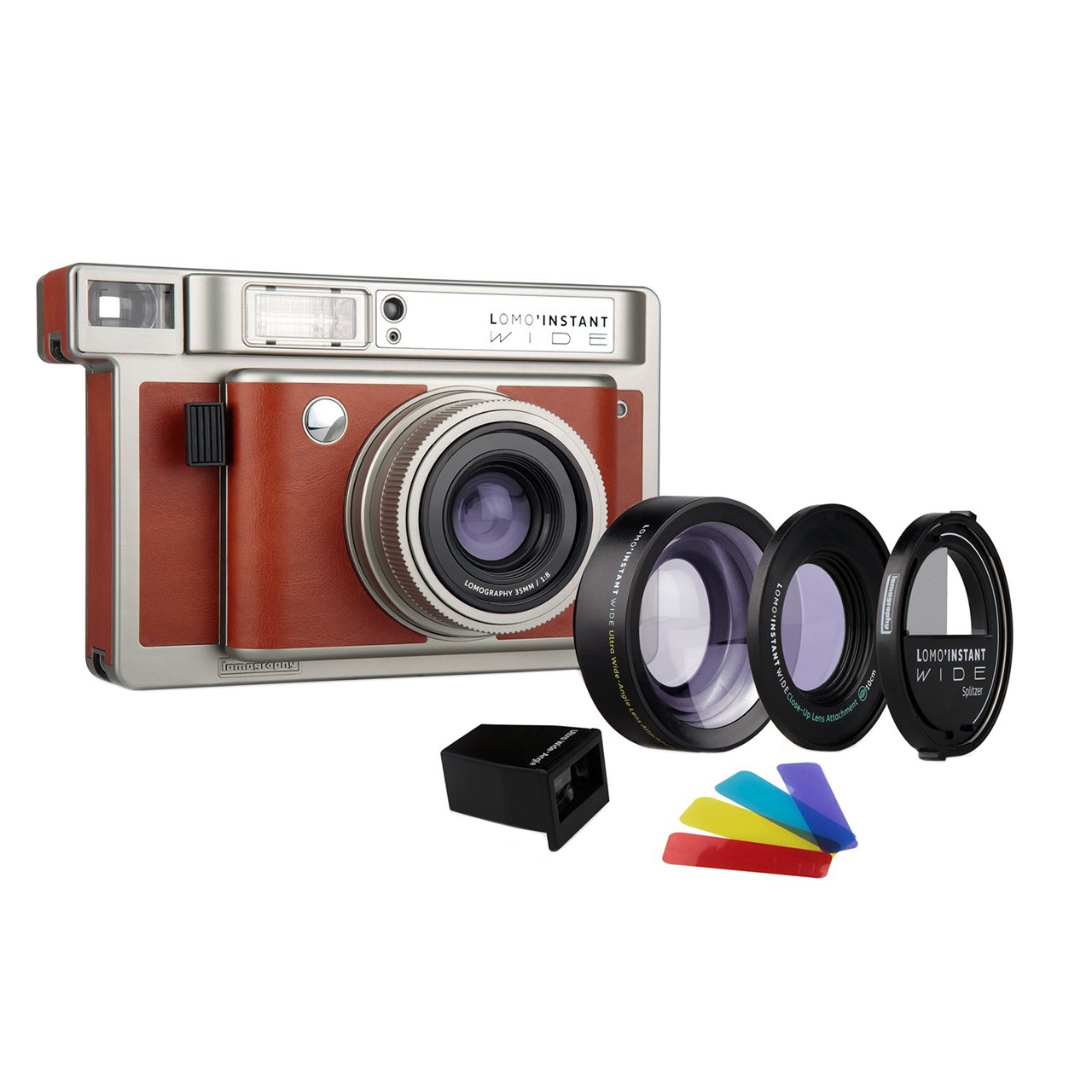 دوربین چاپ سریع لوموگرافی مدل Wide Central Park به همراه دو لنز