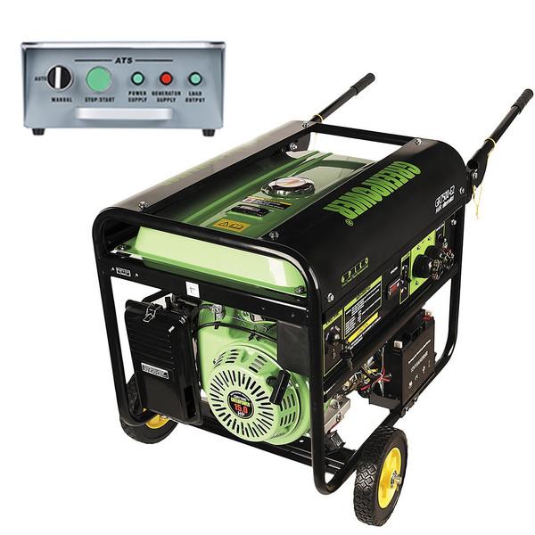موتوربرق گرین پاور مدل GR7500-AT