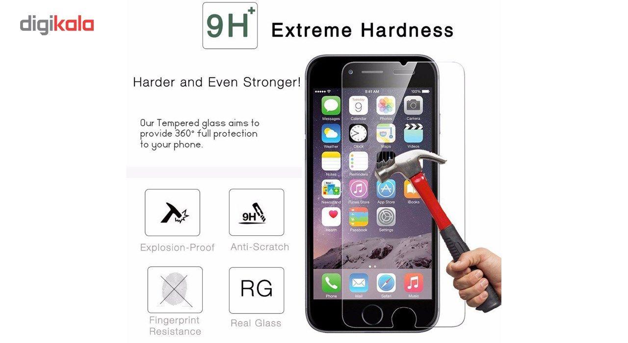 محافظ صفحه نمایش و پشت تمام چسب شیشه ای  پیکسی مدل Top Clear مناسب برای گوشی اپل آیفون 8/7 پلاس main 1 11