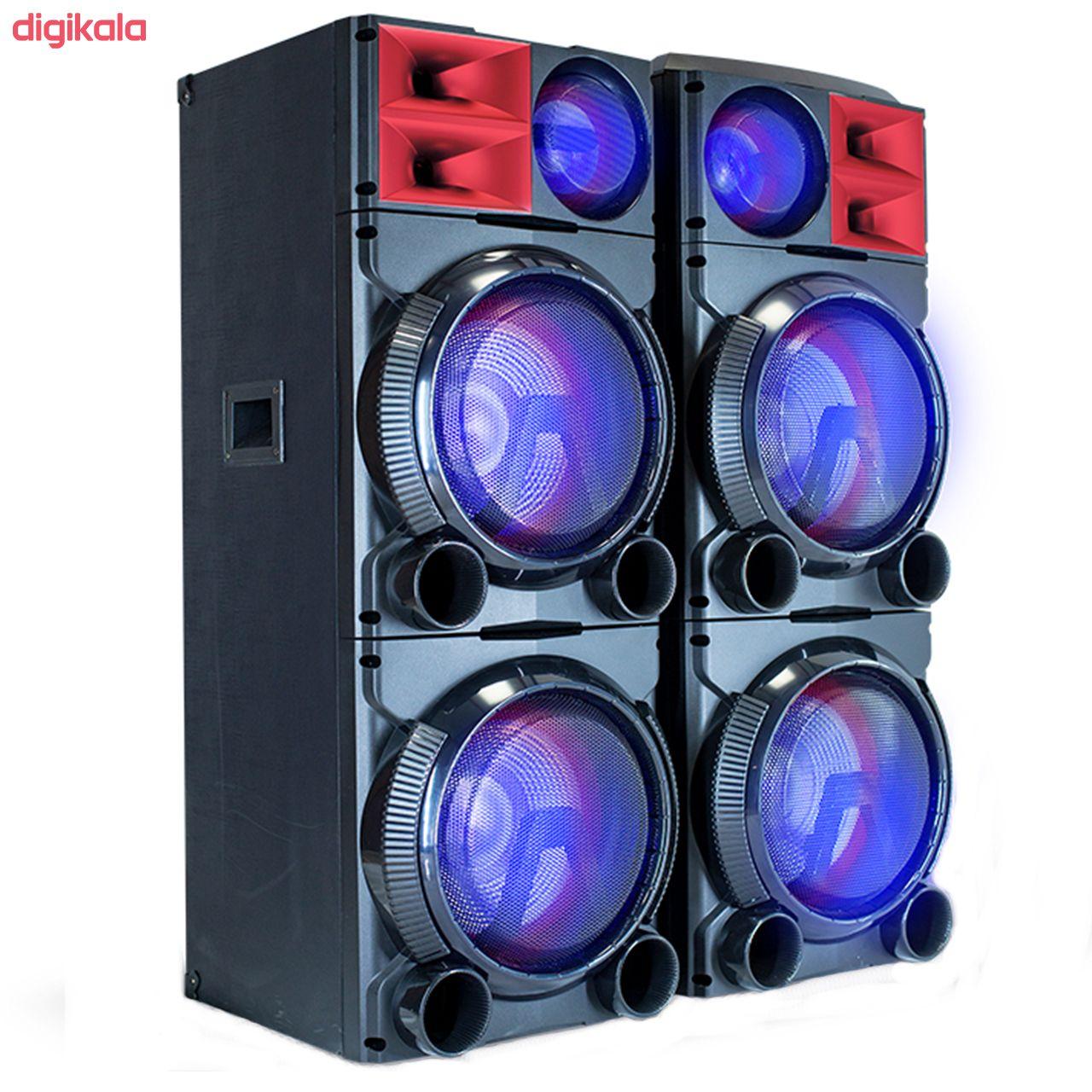 پخش کننده خانگی میکرولب مدل DJ1201SMART main 1 2