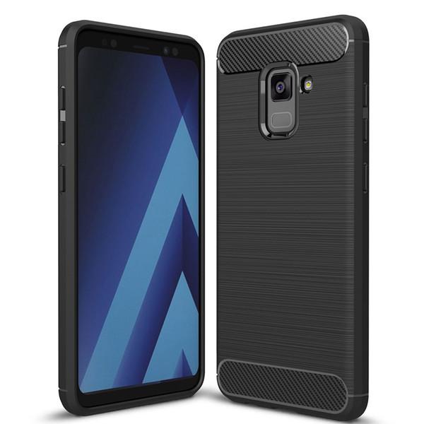 قاب ژله ای سیلیکونی مناسب برای گوشی موبایل سامسونگ گلکسی A8 Plus 2018