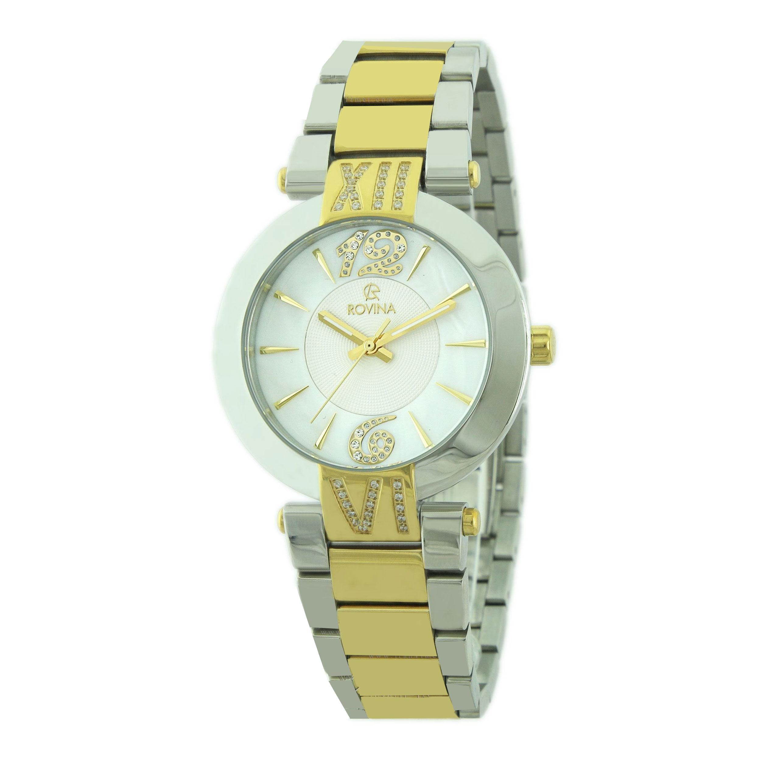 خرید و قیمت                      ساعت مچی  زنانه روینا مدل 22147-L2BW
