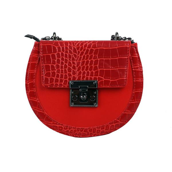 کیف دوشی زنانه مدل اسمرالدا