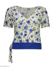 ست تی شرت و شلوارک زنانه کد 003 -  - 4