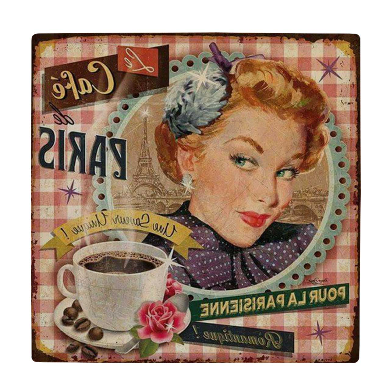 خرید                      کاشی طرح فنجان قهوه کد wk622