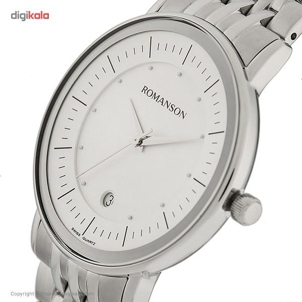 ساعت مچی عقربه ای مردانه رومانسون مدل TM4225MM1WA12W