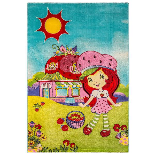 فرش ماشینی سهند کد J127.Q6 طرح عروسکی ،کودک