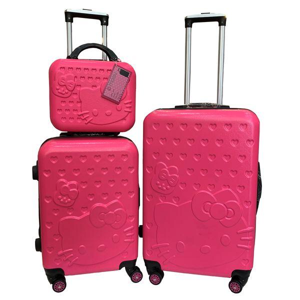 مجموعه سه عددی چمدان کودک مدل کیتی کد C041