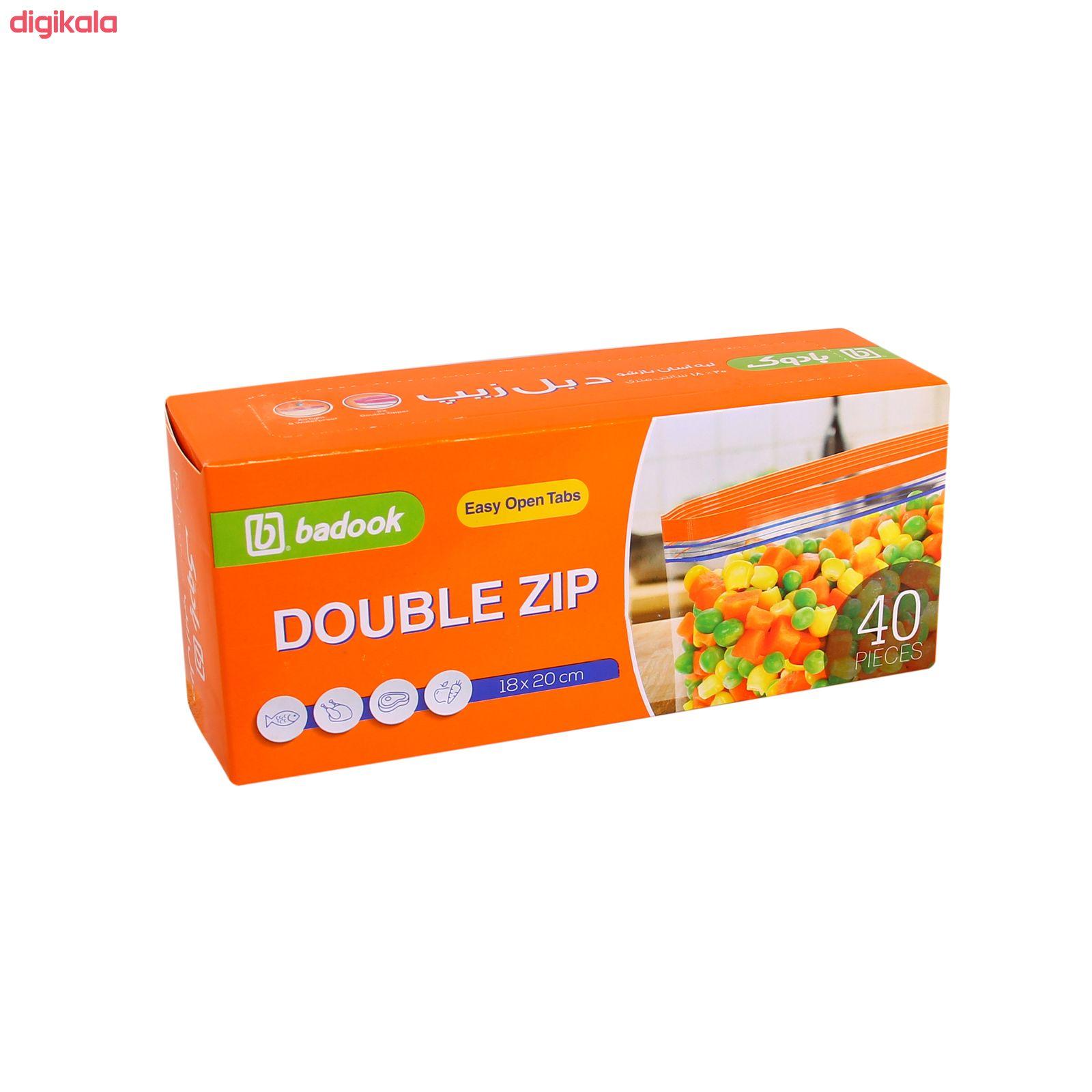 کیسه زیپ دار بادوک مدل S1 بسته 40 عددی main 1 1