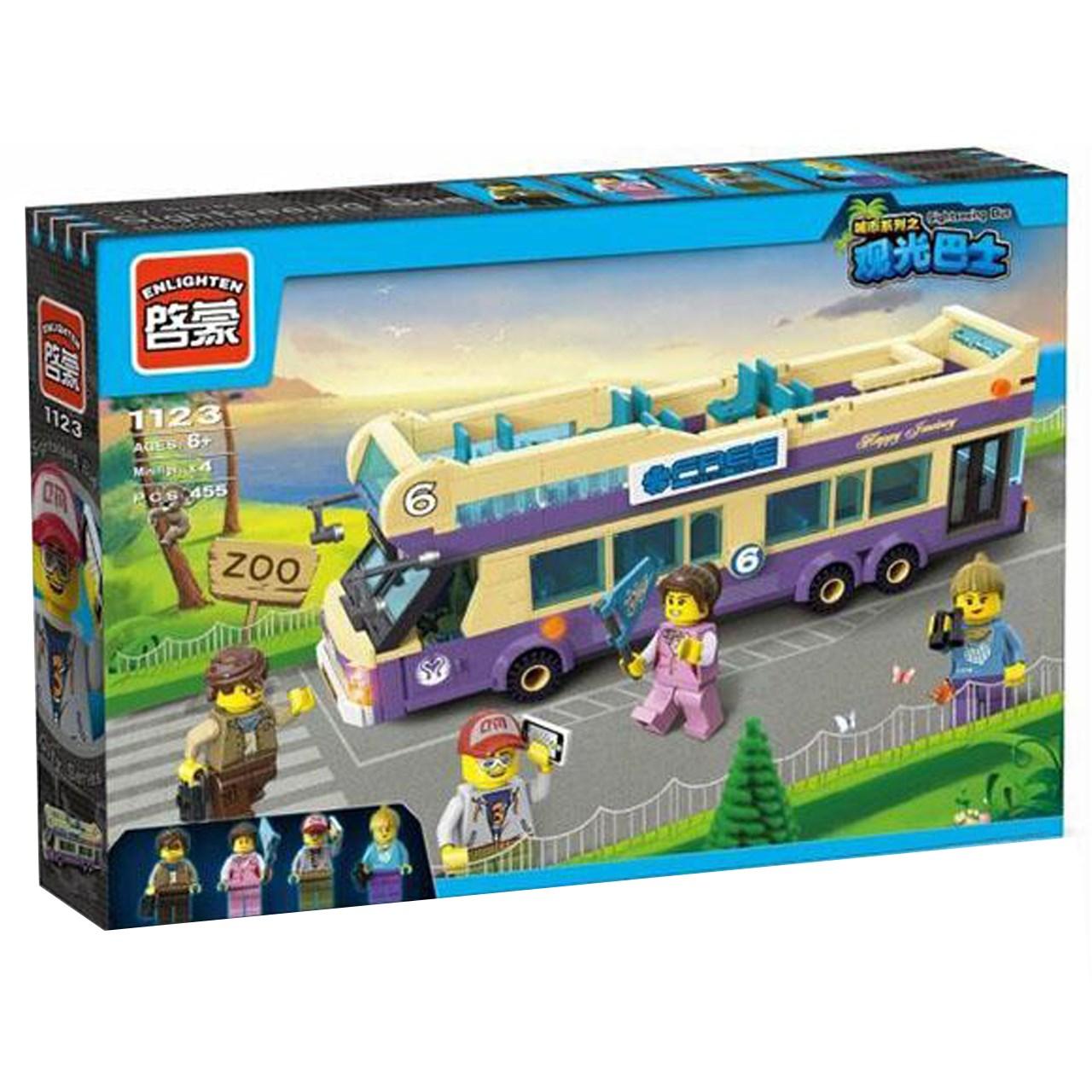 لگو اتوبوس انلایتن مدل 1123 تعداد 455 قطعه