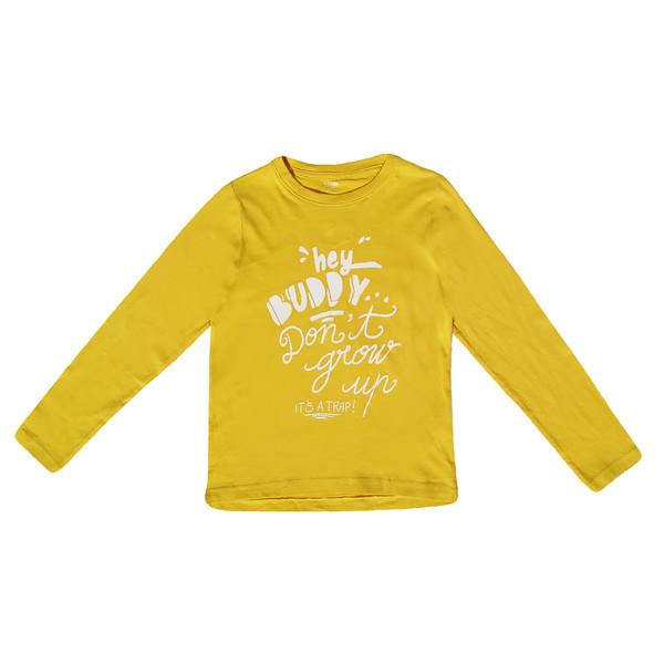 تی شرت آستین بلند پسرانه کیابی کد 10063