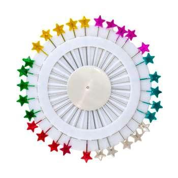 سوزن ته گرد طرح ستاره مدل s104 بسته ۴٠ عددی