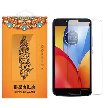 محافظ صفحه نمایش شیشه ای کوالا مدل Tempered مناسب برای گوشی موبایل موتورولا Moto E4