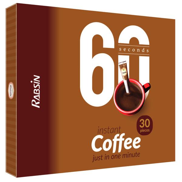 قهوه فوری رابسین بسته 30 عددی