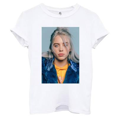 تی شرت آستین کوتاه زنانه اسد طرح بیلی آیلیش کد ۱۳۲