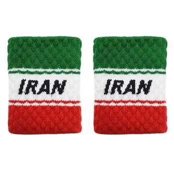 مچ بند ورزشی طرح ایران بسته دو عددی