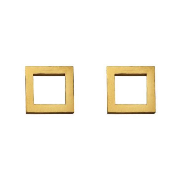 گوشواره زنانه مدل مربع کد017