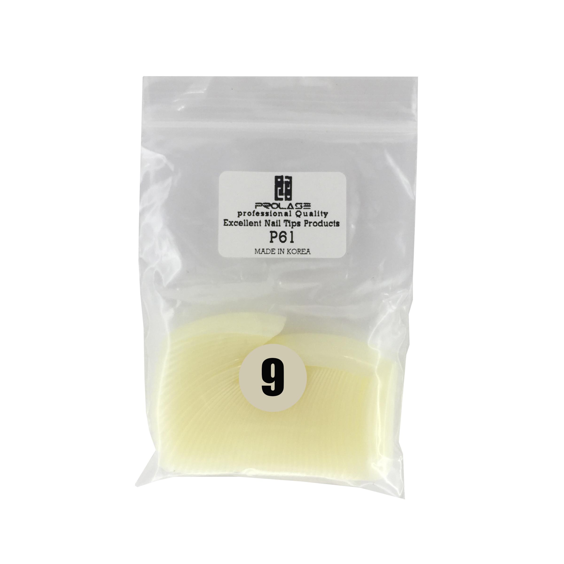 تیپ کاشت ناخنپرولایز  شماره p61 - 9 بسته 50 عددی