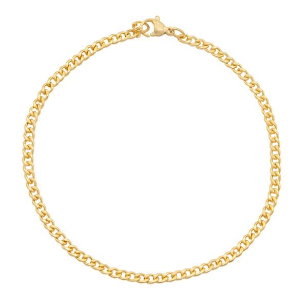 پابند طلا 18 عیار زنانه گالری مرجان مدل 10117