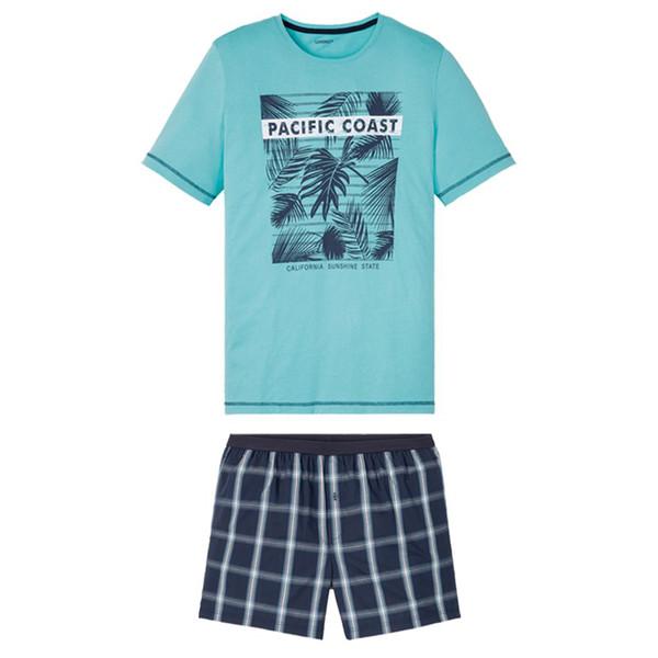 ست تی شرت و شلوارک مردانه لیورجی مدل p347979