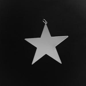 آویز گردنبند مدل ستاره کد 80