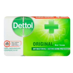 صابون ضد باکتری دتول مدل ORIGINAL وزن 65 گرم