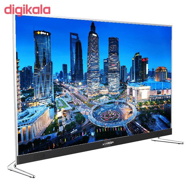 تلویزیون ال ای دی هوشمند ایکس ویژن مدل 50XKU575 سایز 50 اینچ main 1 2