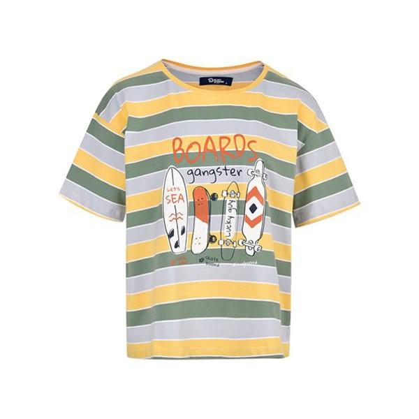 تی شرت آستین کوتاه زنانه بادی اسپینر مدل 2746 کد 1 رنگ زرد