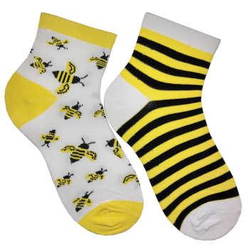 جوراب زنانه مدل زنبور
