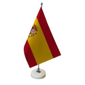 پرچم رومیزی طرح پرچم کشور اسپانیا کد pr48