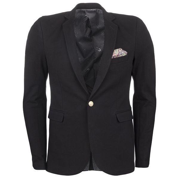 کت مردانه استاپ مدل دستمال جیب دار