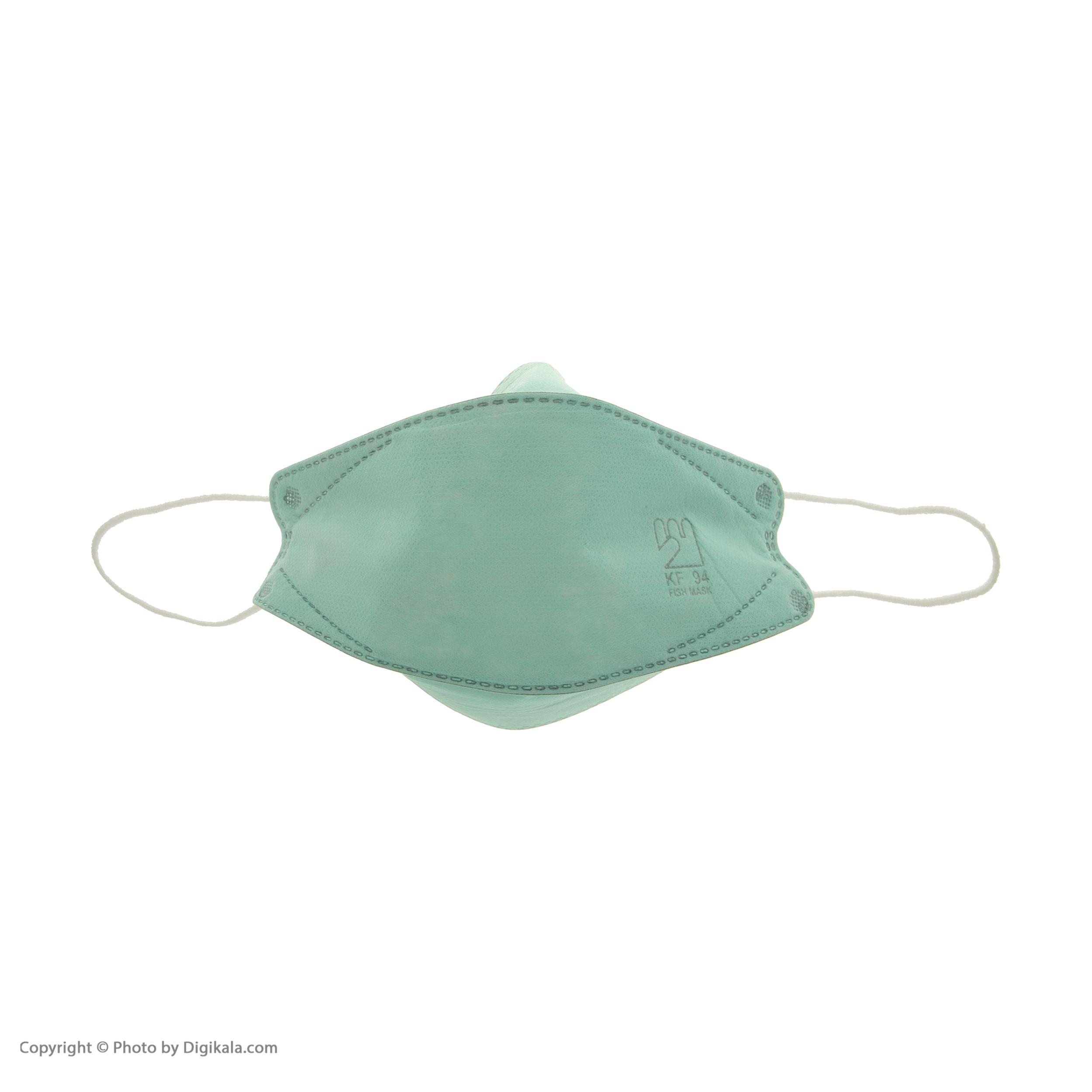 ماسک تنفسی اکسیر مدل KF94 کد EXR006 بسته 25 عددی