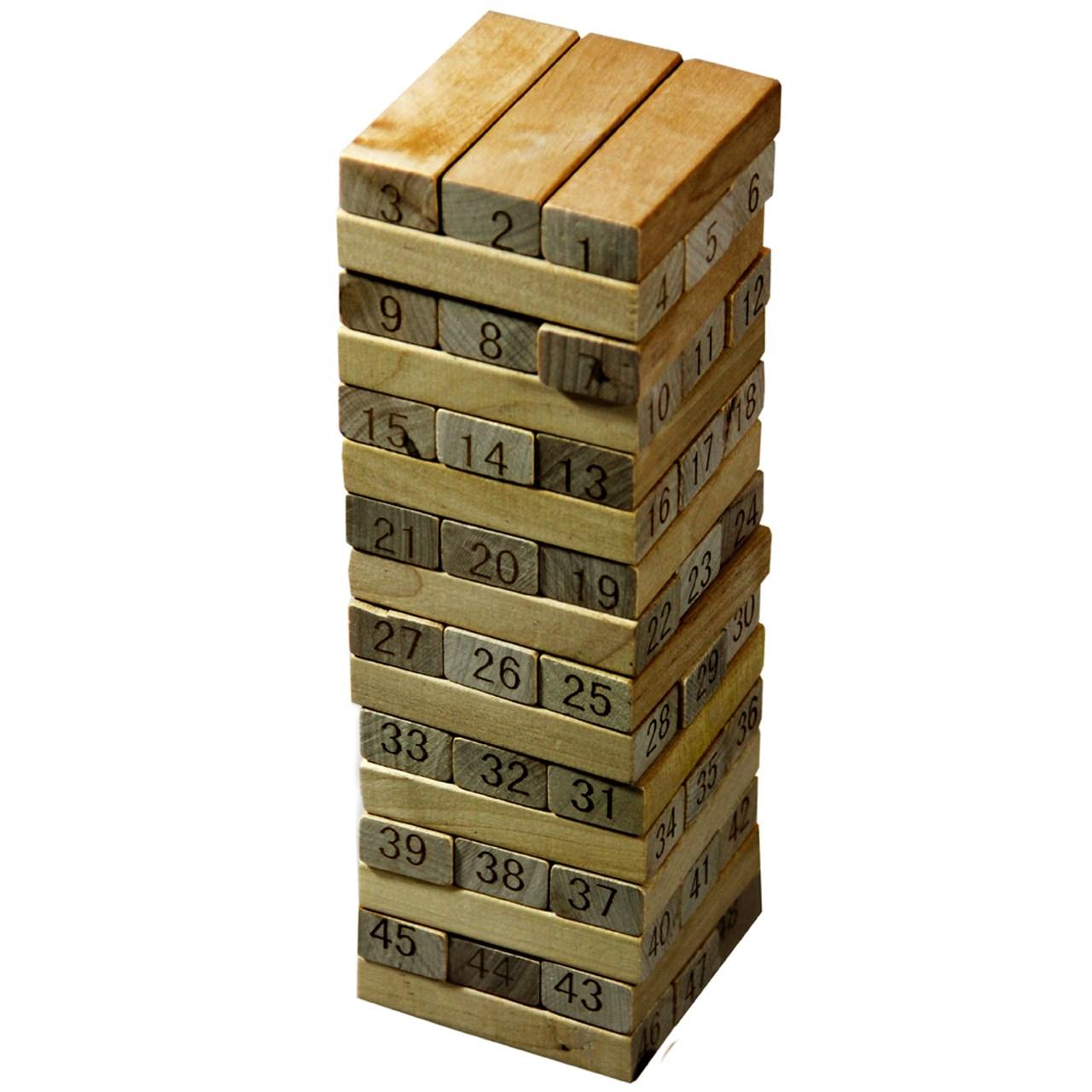 بازی 48 تکه جنگا فولدز های مدل Wood Toys