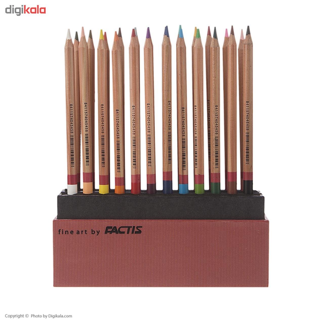 مداد رنگی 24 رنگ فکتیس مدل Gallery Collection