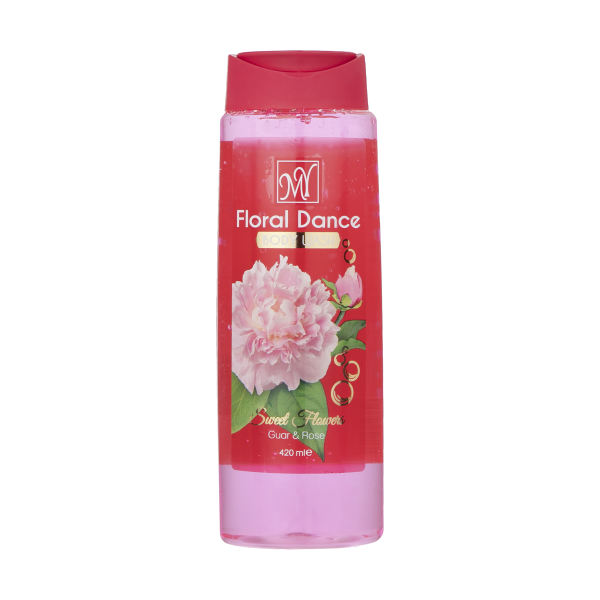 شامپو بدن زنانه مای مدل Floral Dance حجم 420 میلی لیتر
