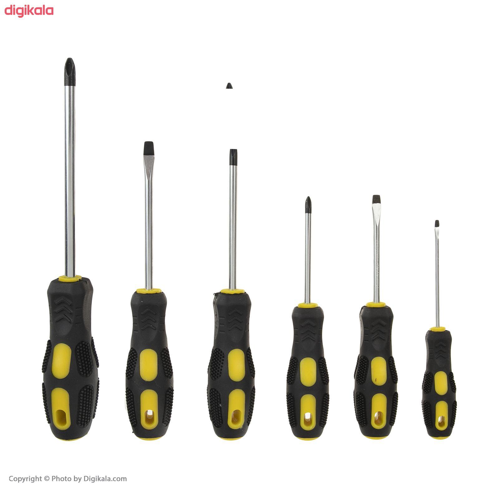 مجموعه ابزار 186 عددی آپ اسپریت مدل YT7001 main 1 19