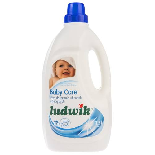 مایع لباسشویی کودک لودویک مدل Baby Care حجم 1500 میلی لیتر