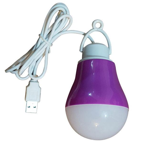 چراغ قوه اویز USB مدل LED BULB