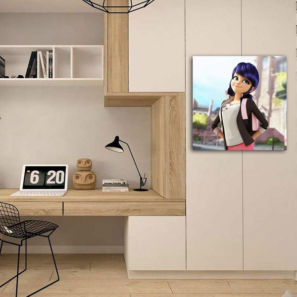 تابلو شاسی مدل دختر کفشدوزکی کد 2