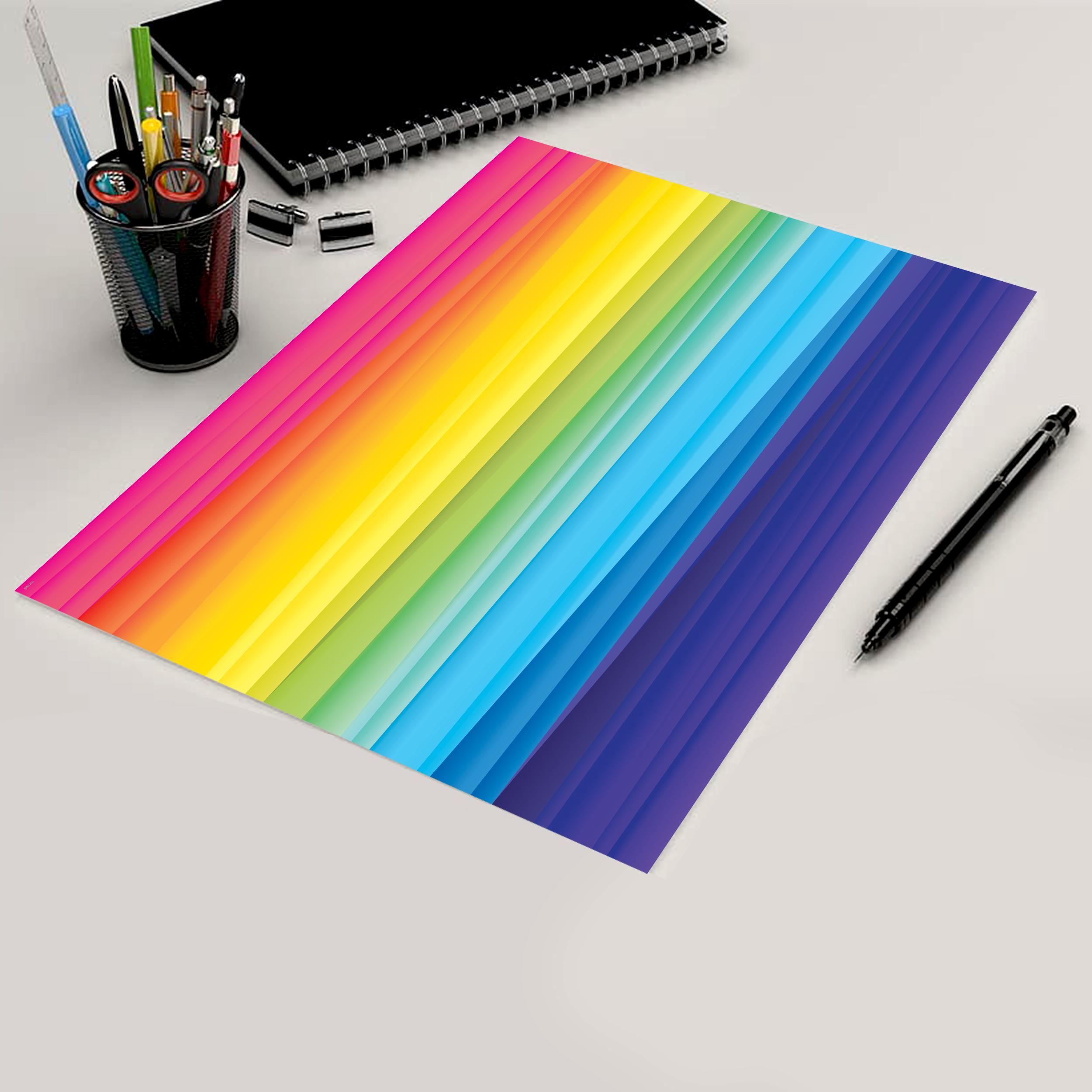 کاغذ رنگی A4 مستر راد مدل رنگارنگ بسته 10 عددی main 1 7