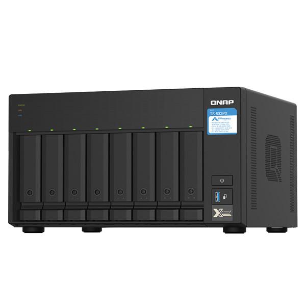 ذخیره ساز تحت شبکه کیونپ مدل TS-832PX-4GB