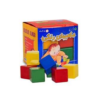 بازی آموزشی بافرزندان مدل مکعب های رنگی 8 عددی